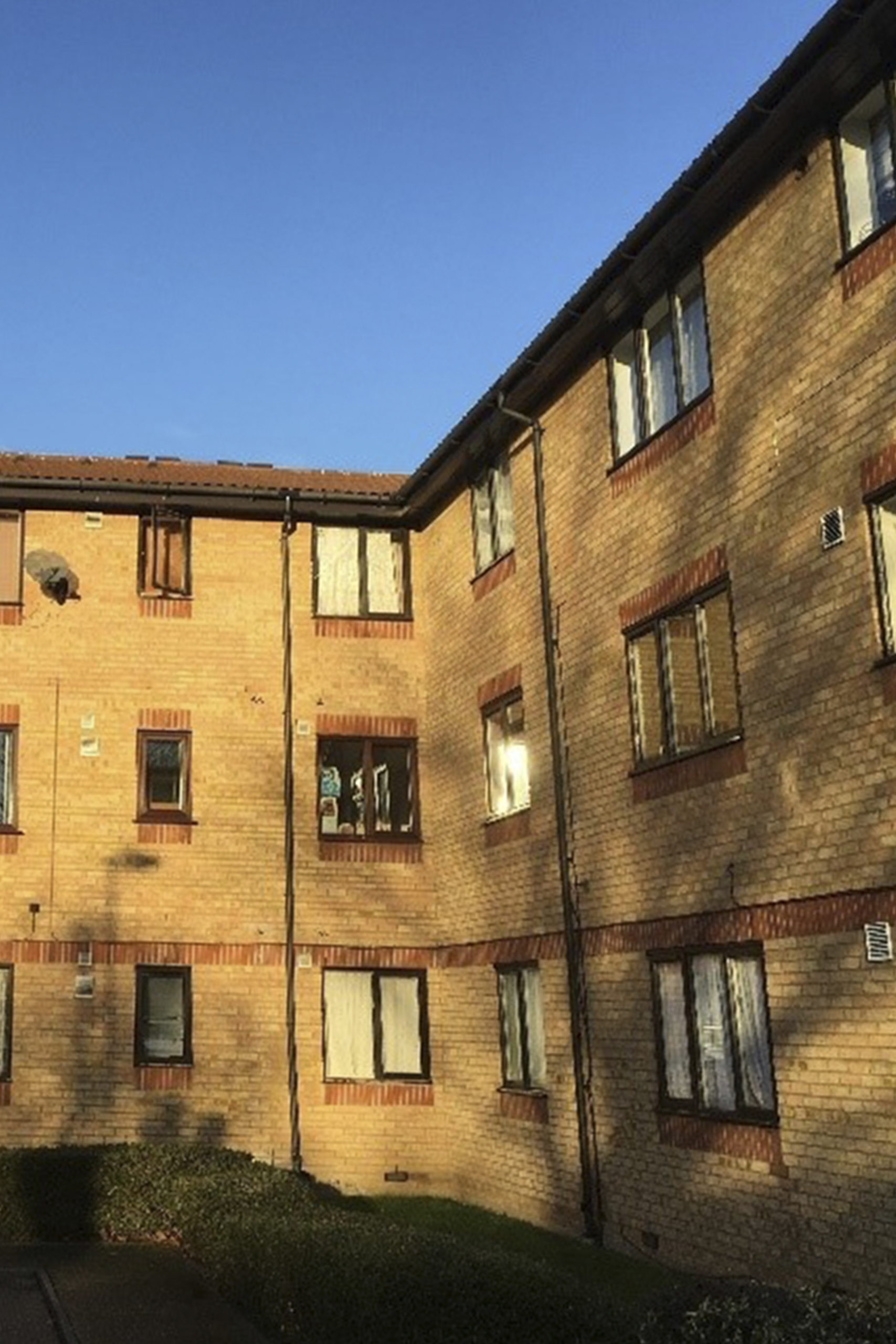 Outside view of BJE Playfield flats