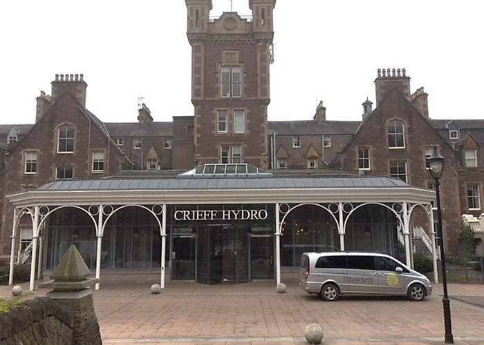 Client project Crieff Hydro
